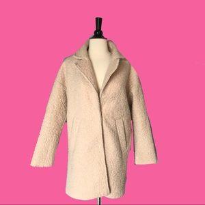 Anthropologie Heartloom Fuzzy Jacket